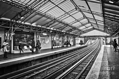 Quai De La Gare Poster by Delphimages Photo Creations