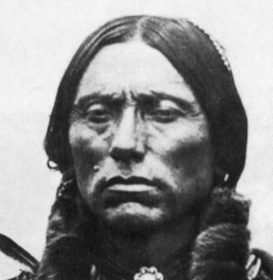 Quanah Parker (1845-c1911) Poster