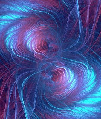 Quantum Entanglement Conceptual Image Poster by David Parker