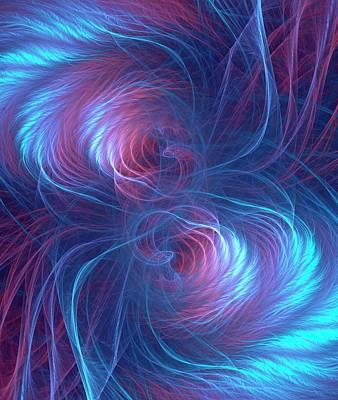 Quantum Entanglement Conceptual Image Poster
