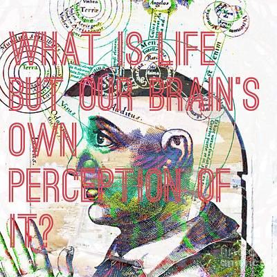 Quantum Physics Hurts My Brain Poster