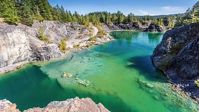 Quarry Lake British Columbia Poster