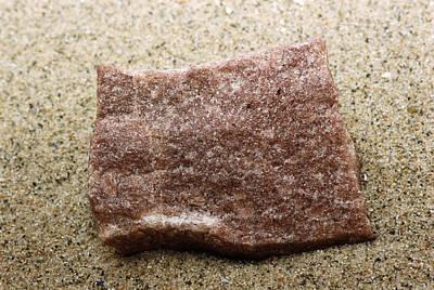 Quartzite, A Metamorphic Rock Poster
