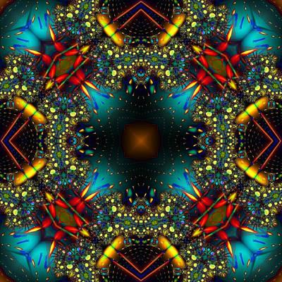 Quasar Kaleidoscope No 1 Poster
