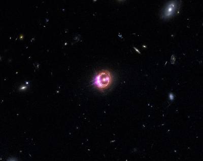 Quasar Rx J1131-1231 Poster by Nasa