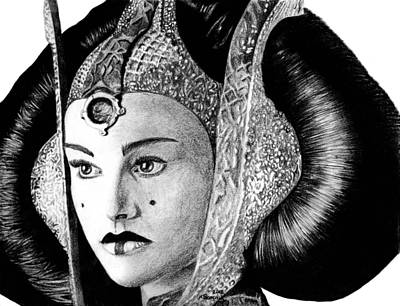 Queen Amidala Poster by Kayleigh Semeniuk