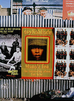 Poster featuring the photograph Queen Badu by Rebecca Harman