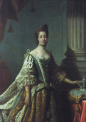 Queen Charlotte (1744-1818) Poster by Granger