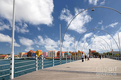 Queen Emma Bridge Curacao Poster by Amy Cicconi