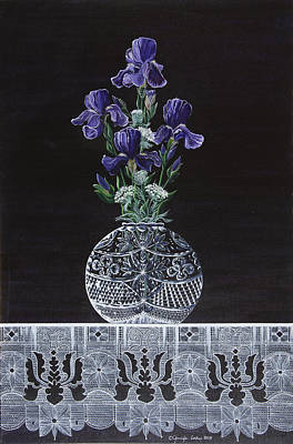 Queen Iris's Lace Poster