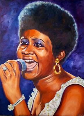 Queen Of Soul Poster by Christina Clare