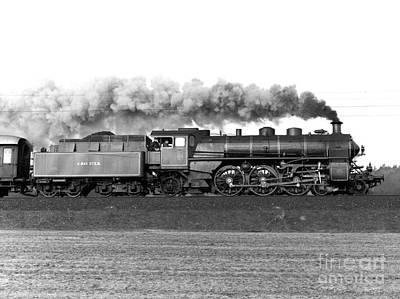 Queen Of Steam Poster by Joachim Kraus