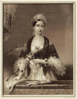 Queen Victoria In 1837         Date Poster