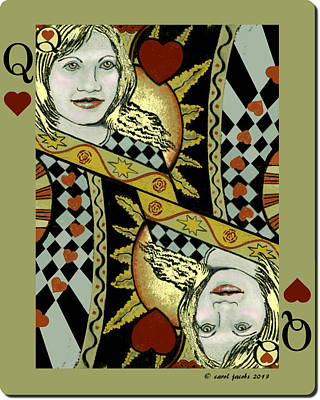 Queen's Card II Poster