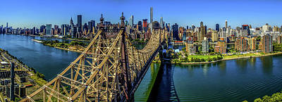 Queensboro Bridge, Midtown Manhattan Poster