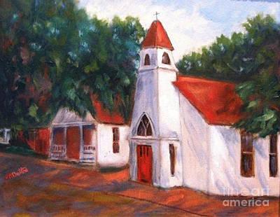 Quiant Arkansas Church Poster by Marcia Dutton