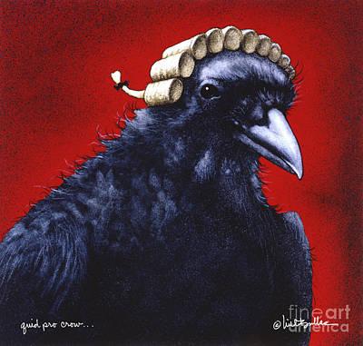 Quid Pro Crow... Poster