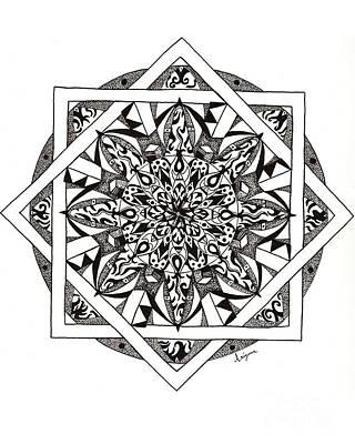 Quiddity Mandala Poster
