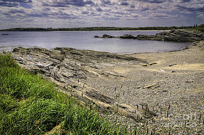 Poster featuring the photograph Quiet Cove by Mark Myhaver