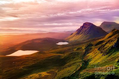 Quiraing - Isle Of Skye Poster by Matt  Trimble