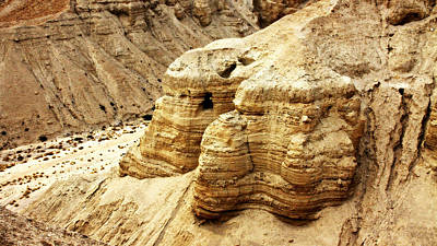 Qumran Cave 4 Poster by Stephen Stookey