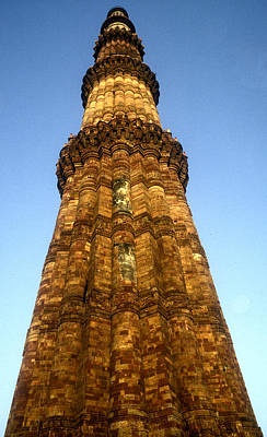Qutub Minar, Delhi, India Photo Poster by .