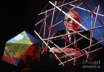 R. Buckminster Fuller 1981 Poster by The Harrington Collection