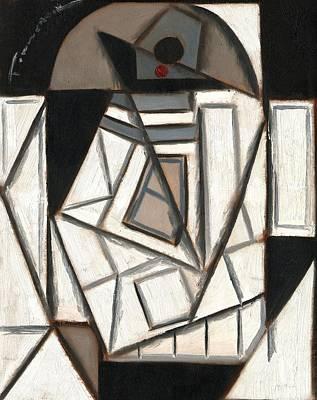 R2 Cubism Art Print Poster