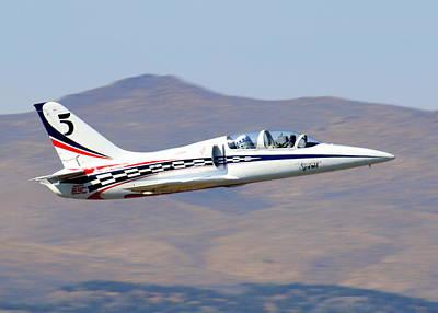 R2d2 Flies At The Reno Air Races Poster