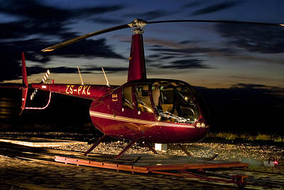 R44 Sunset Poster by Paul Job