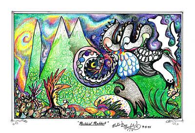 Rabbid Rabbit Poster
