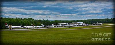 Race Week 2014 Pocono Airport  Poster by Gary Keesler