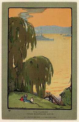 Rachael Robinson Elmer, The Hudson From Riverside Drive Poster by Quint Lox
