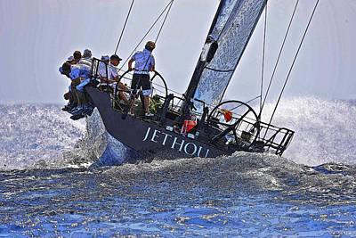 Racing Yacht Poster