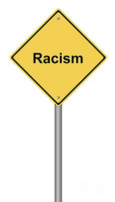 Racism Poster by Henrik Lehnerer