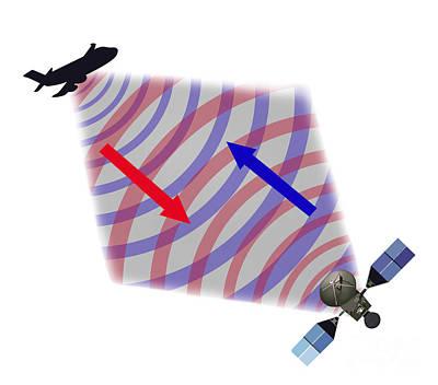 Radar Illustration Poster by Gwen Shockey
