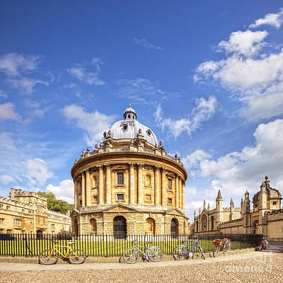 Radcliffe Camera Poster by Colin and Linda McKie