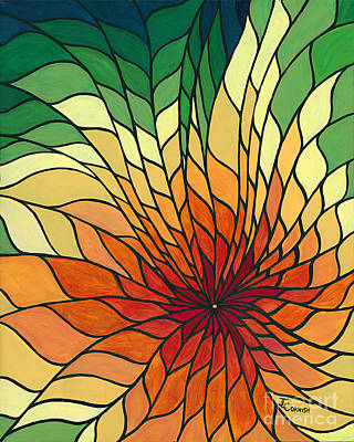 Radiance Poster by Janis  Cornish