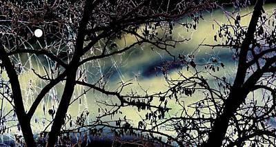 Radiant Full Moon Poster
