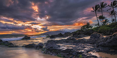 Radiant Maui Poster by Hawaii  Fine Art Photography