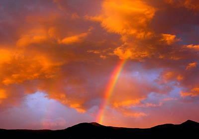 Radiant Rainbow Poster by Mavis Reid Nugent