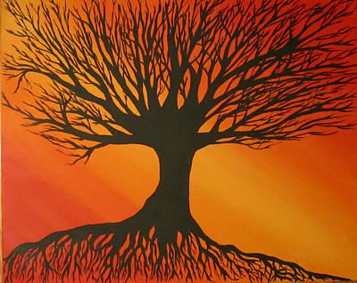 Radiant Tree Poster