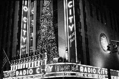 Poster featuring the photograph Radio City New York by Dave Beckerman