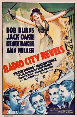 Radio City Revels, Top Ann Miller Poster