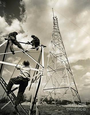 Radio Tower Poster