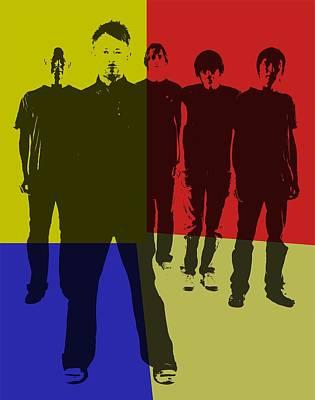 Radiohead Pop Art Poster by Dan Sproul