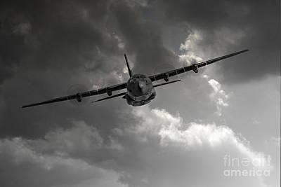 Raf C-130 Transport Poster by J Biggadike