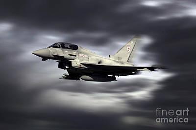 Raf Typhoon Pass Poster by J Biggadike