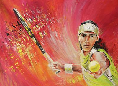 Rafael Nadal Poster by Miki De Goodaboom