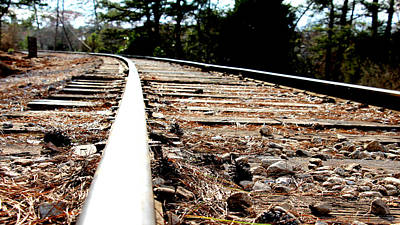 Rail Poster by Shawn MacMeekin